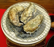 焼き牡蠣単品