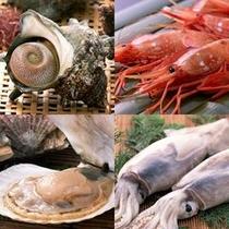 通常のお肉&お野菜のBBQに、栄螺、海老、烏賊、帆立などのシーフードをプラス♪※写真はイメージです