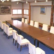*離れの近くにある会議室。少人数でのお打ち合わせにどうぞ。