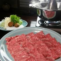 *国産牛(神奈川県産)しゃぶしゃぶをご堪能ください。