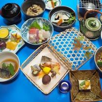 *2016年秋冬のお献立 ご夕食会席料理