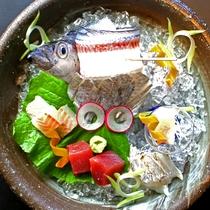 湯浅会席料理 太刀魚