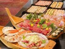バイキング 刺身・寿司
