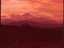 大仁ホテルからの富士山⑤