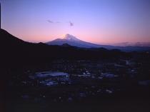 大仁ホテルからの富士山④