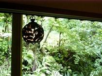 特別室のお部屋から見る風景