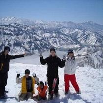 *冬はスキーも楽しめます!