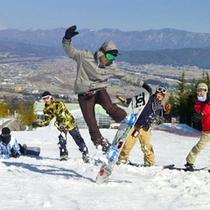 *伊那スキーリゾートのドリームコース(イメージ)