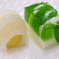 *【和食一例】手作りデザートにもこだわっています(イメージ)