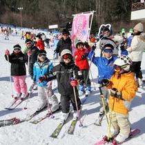 *伊那スキーリゾートでは無料レッスン「楽ちんレッスン」を毎週土日祝実施