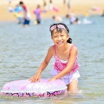 新舞子浜で海水浴♪ <徒歩0分!!>