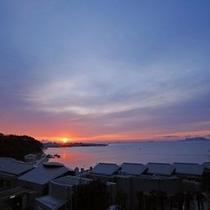 新舞子浜の初日の出