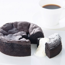 カフェ 自家製ガトーショコラ・オー・クラシック