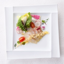 欧風料理ラ・プラージュ オードブル(一例)
