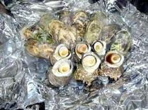 貝類のほうろく焼き