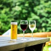 テラスとワインと生ビール イメージ