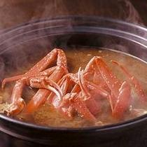 《冬バイキング》蟹味噌汁