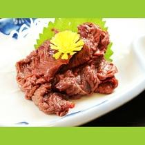 会津の郷土食≪馬刺し≫