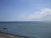 お部屋からの風景(海)