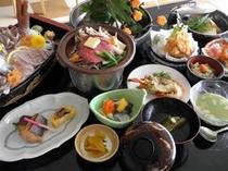 季節の会席(春)お料理一例