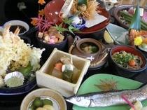 季節の会席:秋(お料理一例)