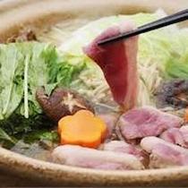 ほっこり味わう〜カモ鍋です♪(イメージ画像です)
