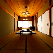 大人数も宿泊できる特別室 ゆったり14.5畳