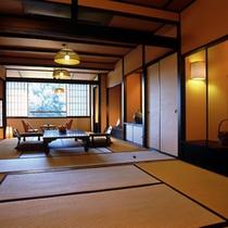 野の花亭 客室(一例)
