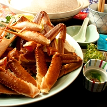 カニ鍋料理