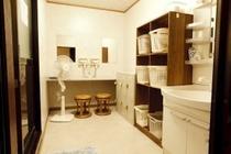 男性用浴場・更衣室