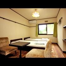 本館洋室 4ベッド