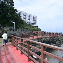 *【道順】徒歩⑧ 再び橋を渡っていきます。