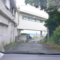 *【道順】車⑥ ホテルに到着です!