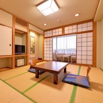 *【和室/別館山側】畳のお部屋でごゆっくりおくつろぎ下さい。