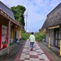 *【道順】徒歩① 徒歩でのホテルまでのルート紹介です。