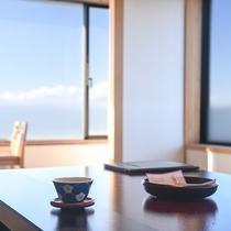 *【本館和室(一例)】海を眺めながらごゆっくりとお過ごしくださいませ(角部屋)