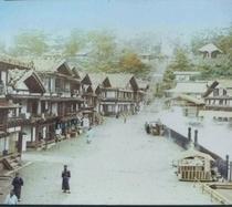 昔の草津温泉街並み