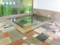 桜御影石大浴場