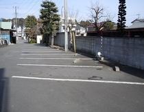 裏駐車場1(無料)
