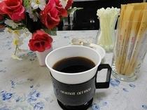 コーヒーとお花