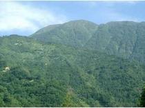 日本百名山の一つ『荒島岳』晴れた日にはホテルから一望出来ま