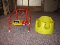 ④幼児用のいすも準備しております