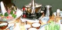 鯛・蛸しゃぶしゃぶ料理