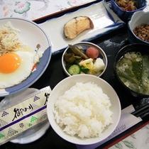 *ご朝食例