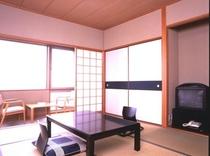 和室客室の一例