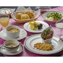 朝食は洋食が食べたい…パン食もご用意いたしました。