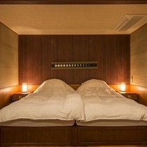 『居待ち月』のベッドルーム