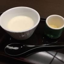 17年初春「和ダイ」十のごっつお(デザート)豆乳蜂蜜プリン