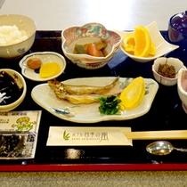 *朝食一例/鵡川名産「ししゃも」をお楽しみ頂けます。