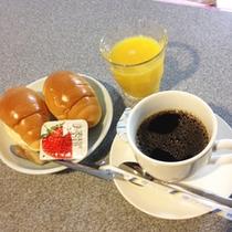 *【サービス朝食】ご宿泊のお客様は「無料」でサービス朝食をご用意いたします。